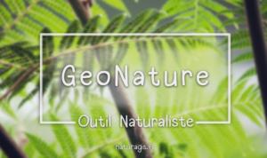 Geonature outil naturaliste web pour la biodiversité