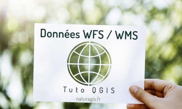 [Tuto] Ajouter une couche de données en flux WMS / WFS dans QGIS
