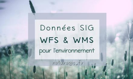 Des serveurs de données WFS / WMS pour un SIG environnemental