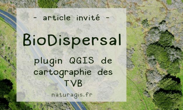 [Invité] BioDispersal : une extension QGIS pour cartographier les continuités écologiques