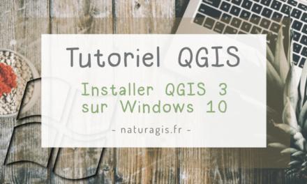 Comment installer QGIS 3 sur Windows 10?