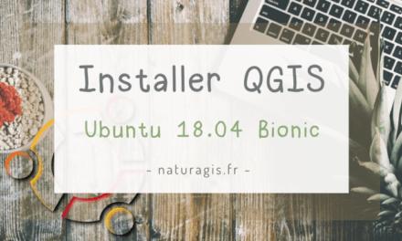 Installer QGIS sous Linux Ubuntu 18.04