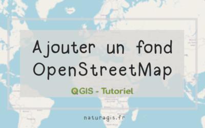 [Tuto]  ajouter un fond OpenStreetMap dans QGIS 3