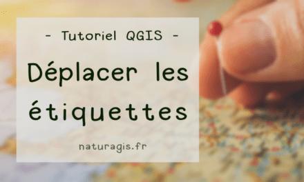 [Tuto] Déplacer les étiquettes manuellement dans QGIS 3